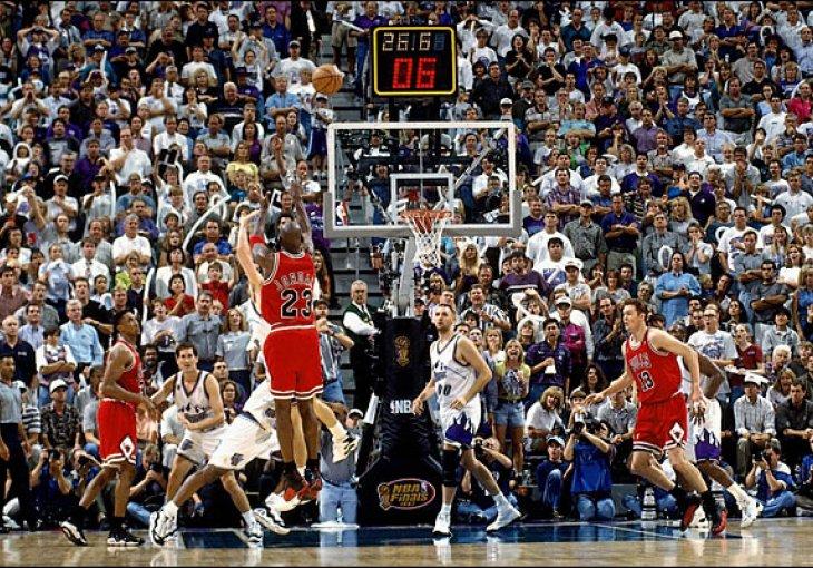 Prodaju se tabla i obruč na kojem je Jordan uništio Utah Jazz  Sport.ba