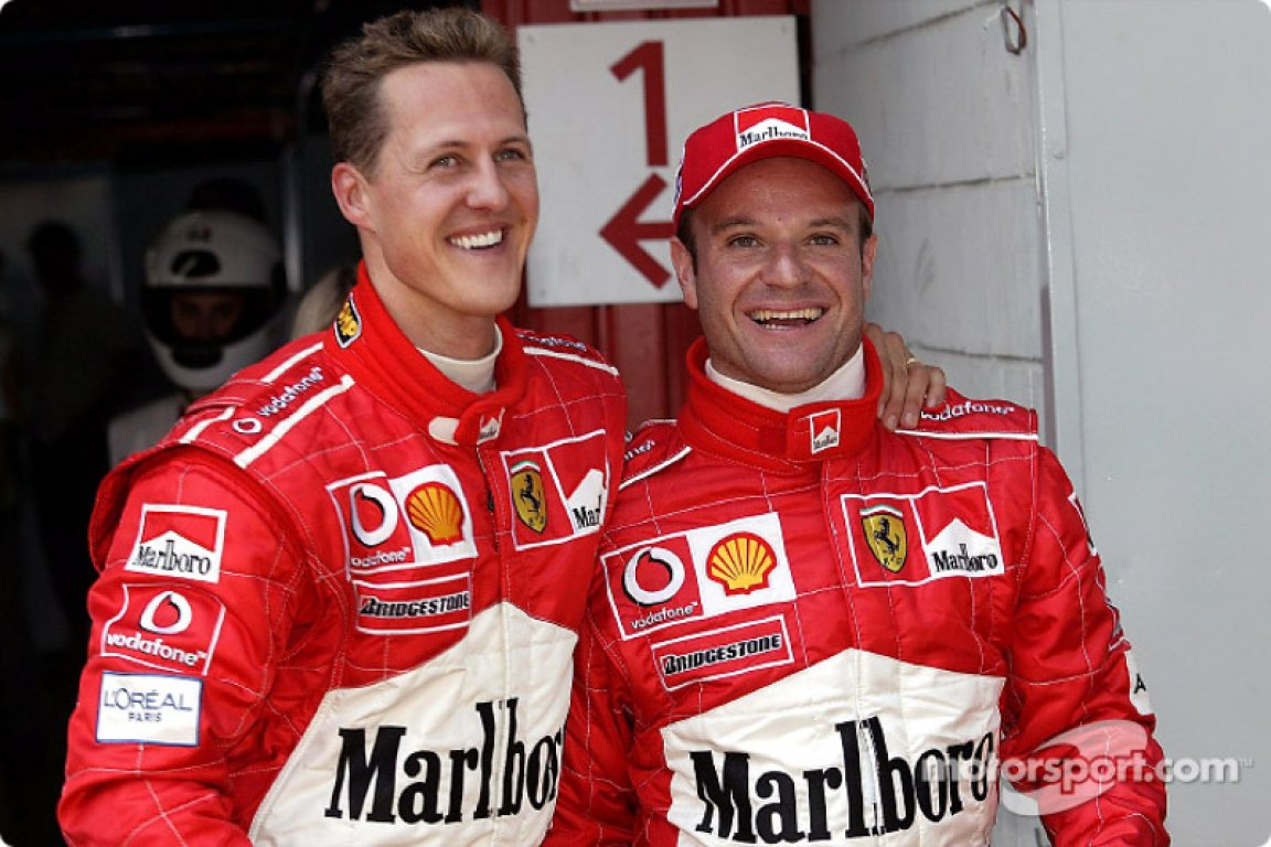 f1-spanish-gp-2003-the-first-row-michael-schumacher-and-rubens-barrichello